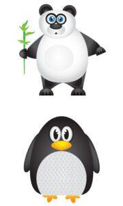 Panda og Penguin