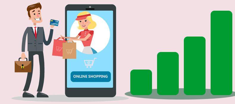 Online handel stiger