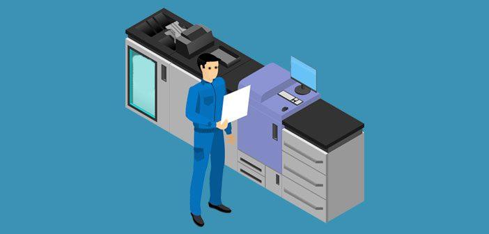 Digitalt tryk printer