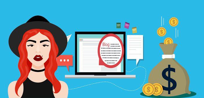 En blog kan være penge værd